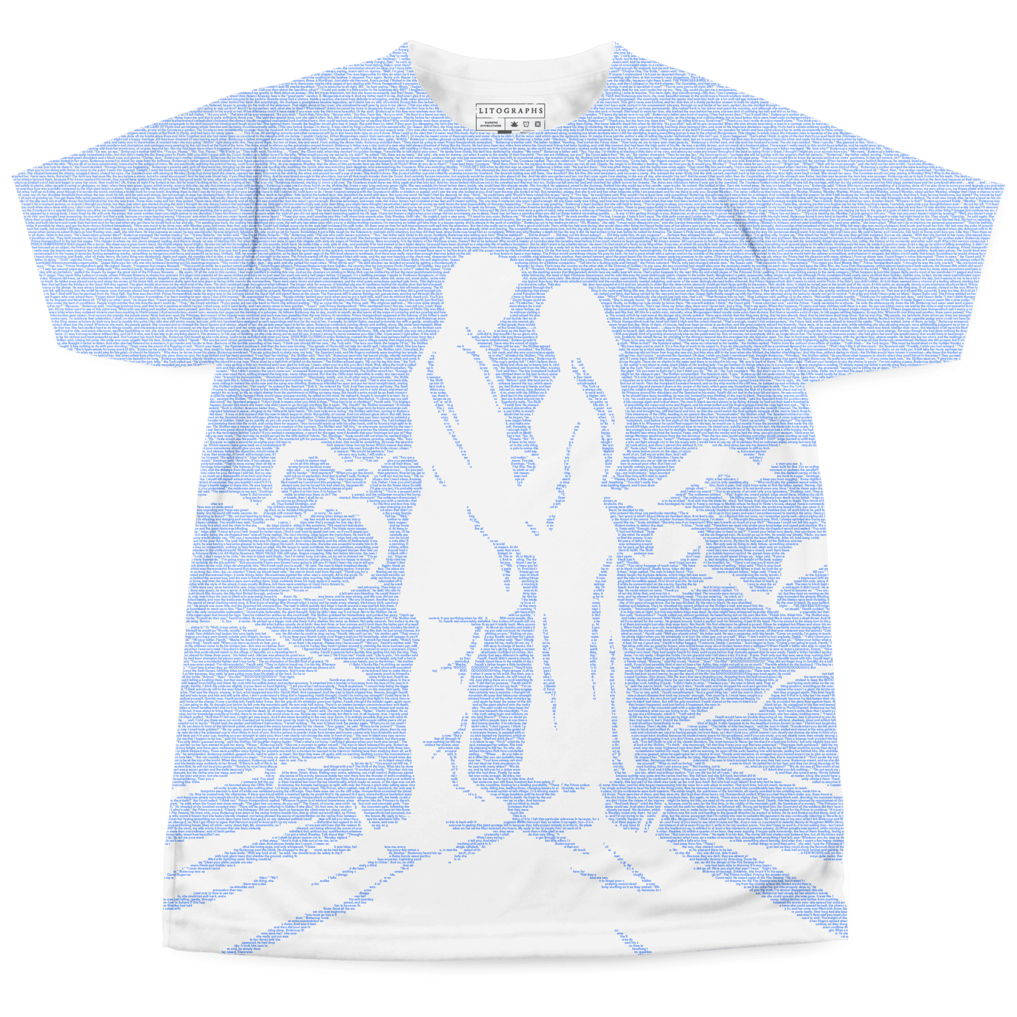 books on t shirts up to words litographs the princess bride