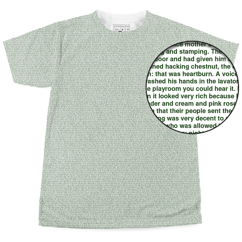 Created from the text of A Portrait of the Artist as a Young Man