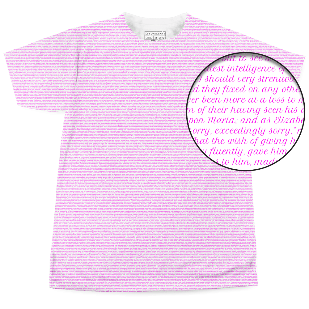 00bfe2b1 Litographs | Pure Text T-Shirts