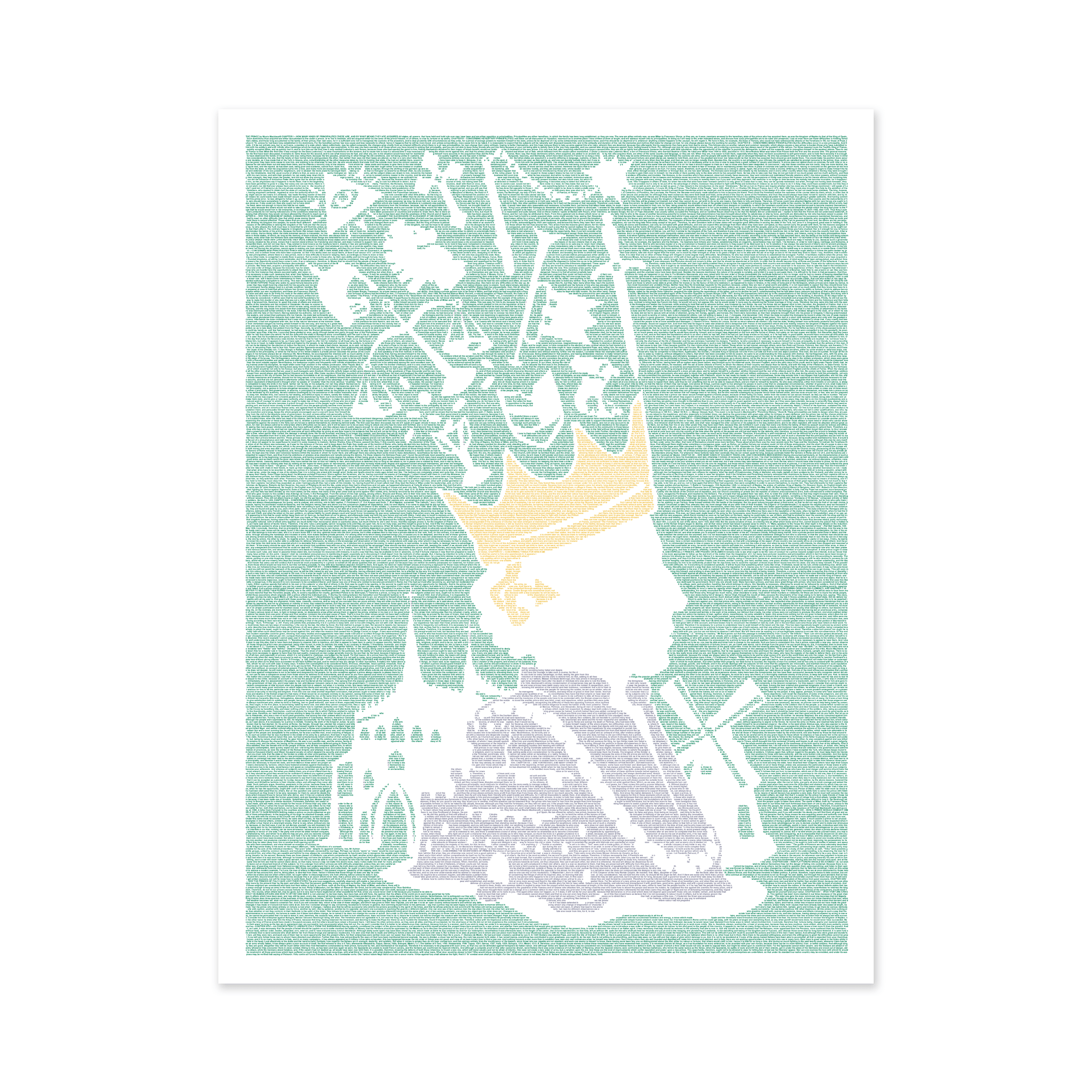 Litographs The Prince Book Poster