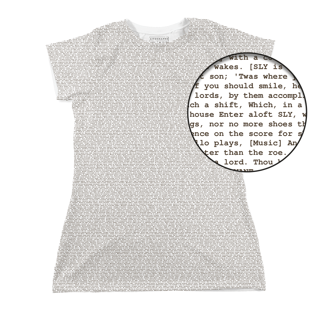 90b5511a3d24 Litographs | The Taming of the Shrew | Book T-Shirt