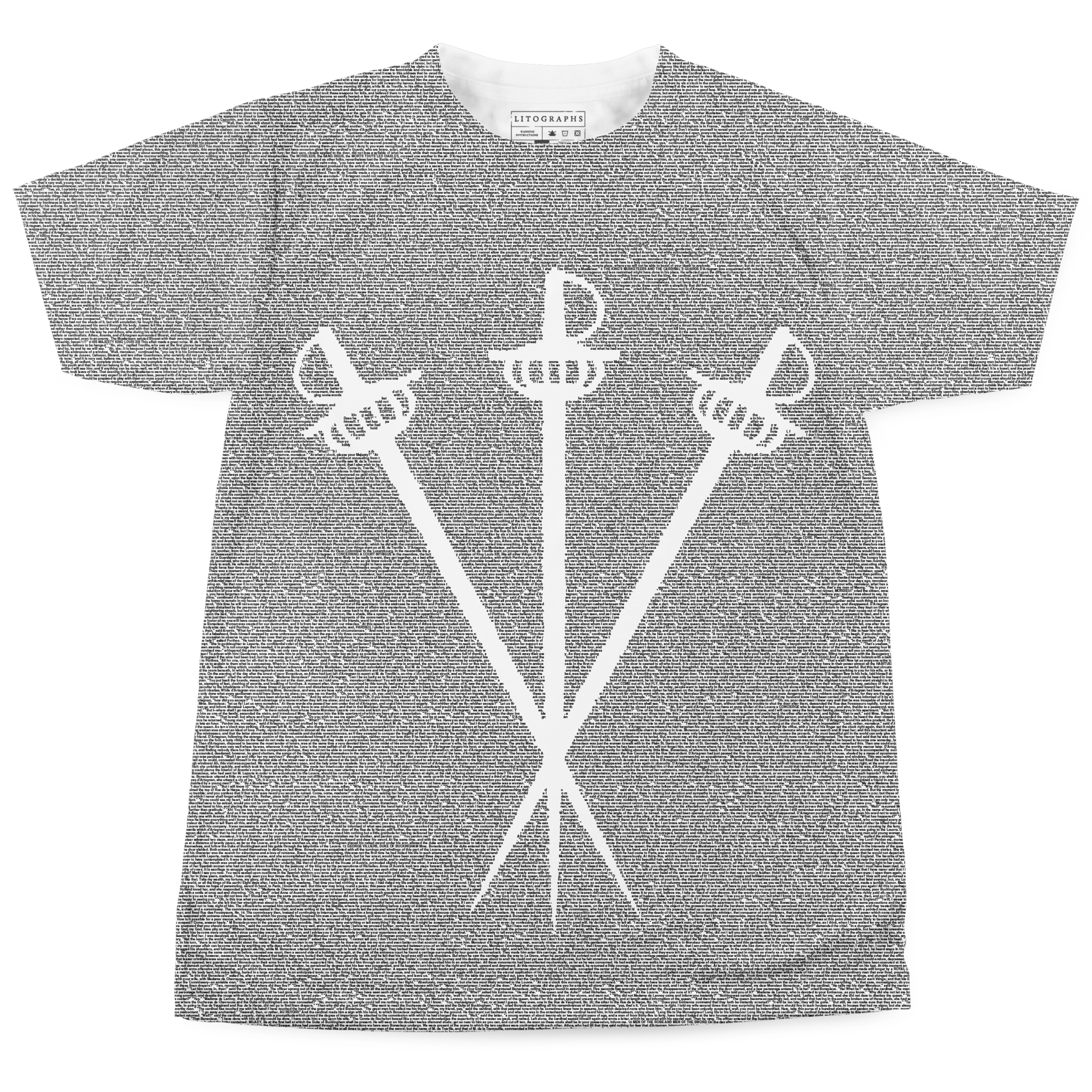 21fccfdf7d72 Litographs | The Three Musketeers | Book T-Shirt