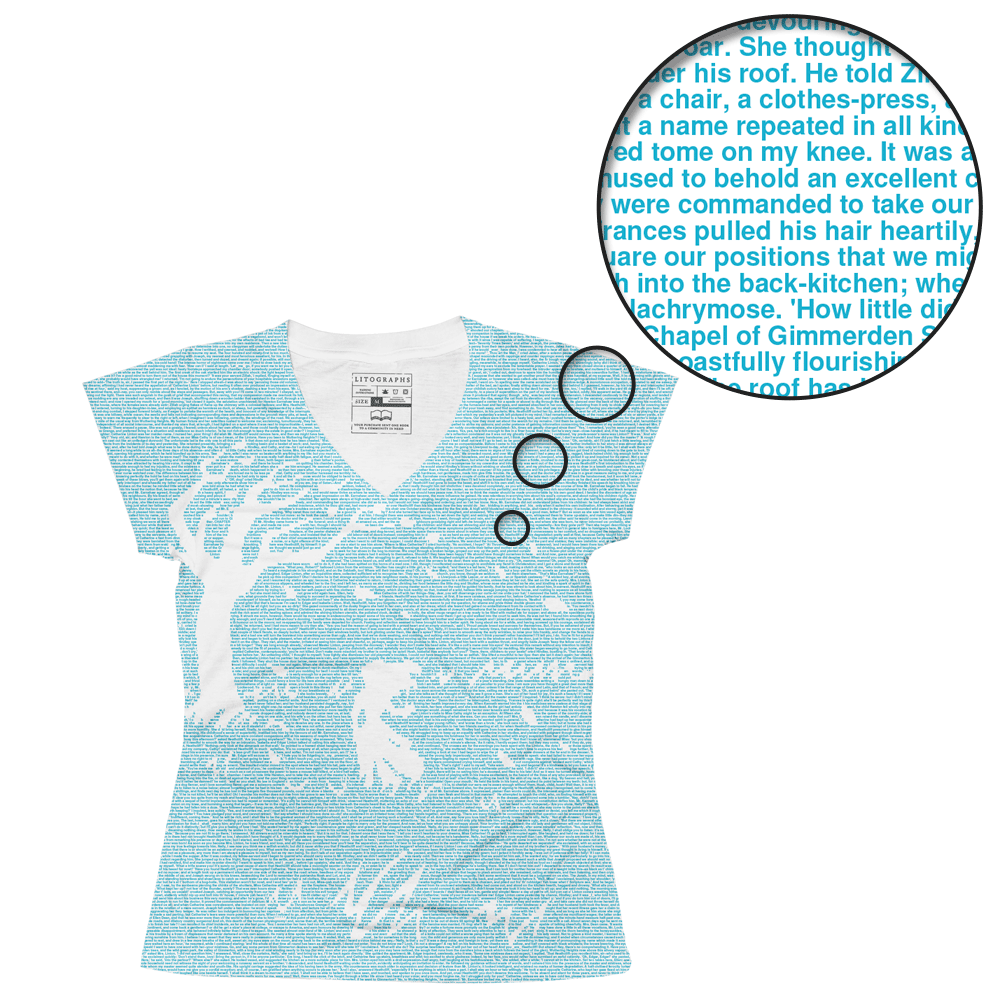 Litographs   Wuthering Heights   Book T-Shirt