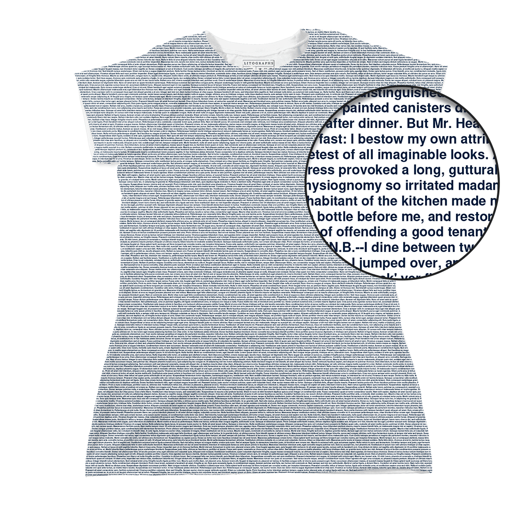 Litographs | Wuthering Heights | Book T-Shirt