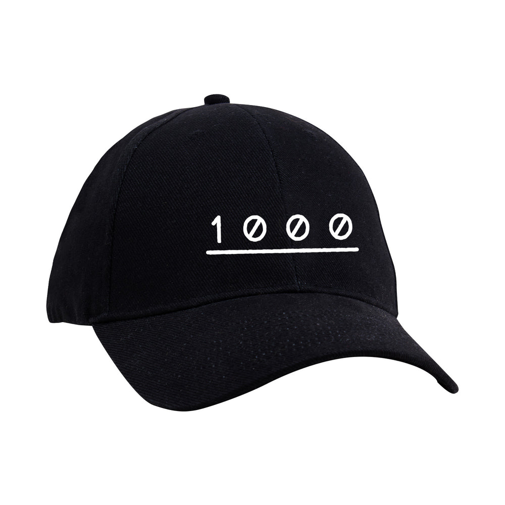 1000 Black Dad Hat
