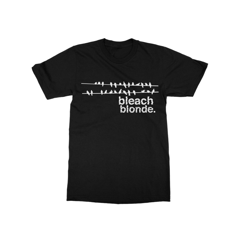 Birds Black T-Shirt
