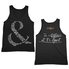 Faithfulness Black Tank Top