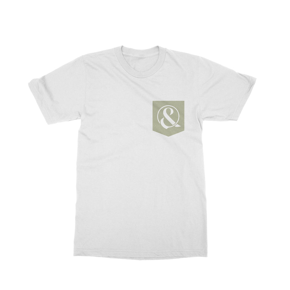 Shell White Pocket T-Shirt