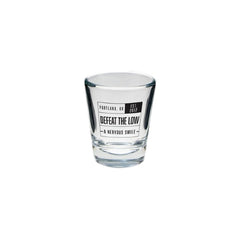 A Nervous Smile Shot Glass