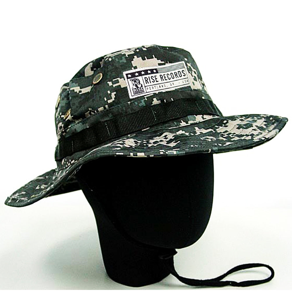 Logo Camo Bucket Hat