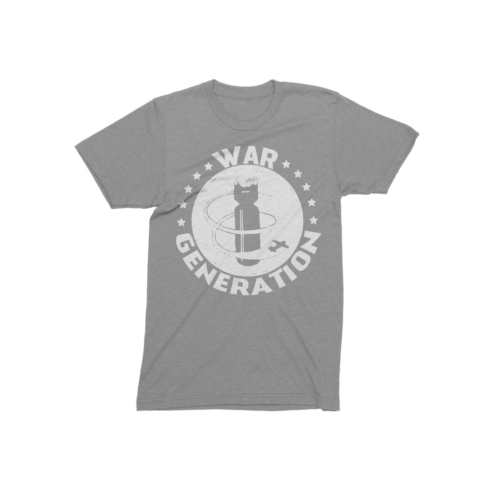 Bomb Heather Grey T-Shirt