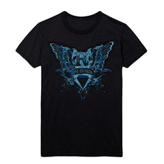 Wings Black T-Shirt