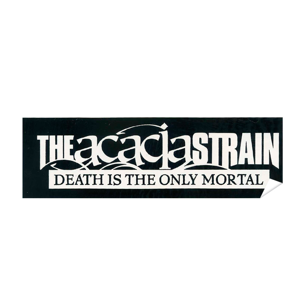 Death The Only Mortal