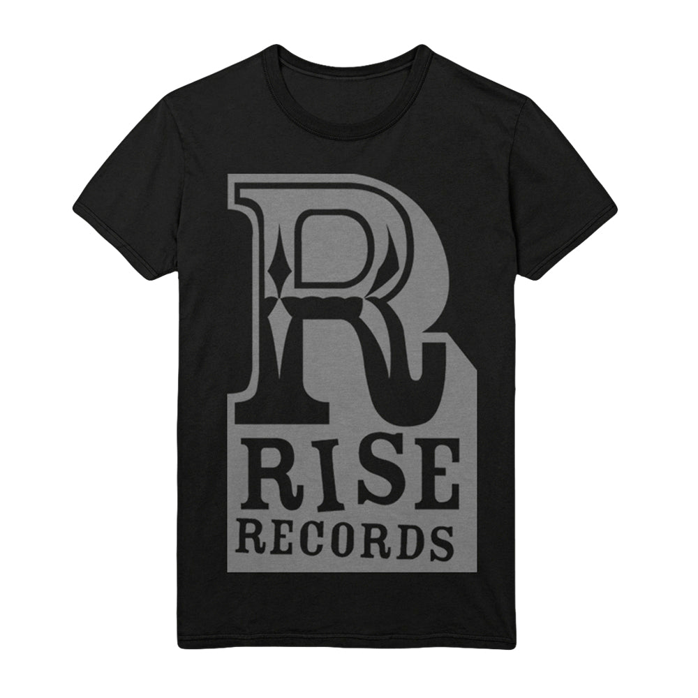 Big R Gray On Black T-Shirt