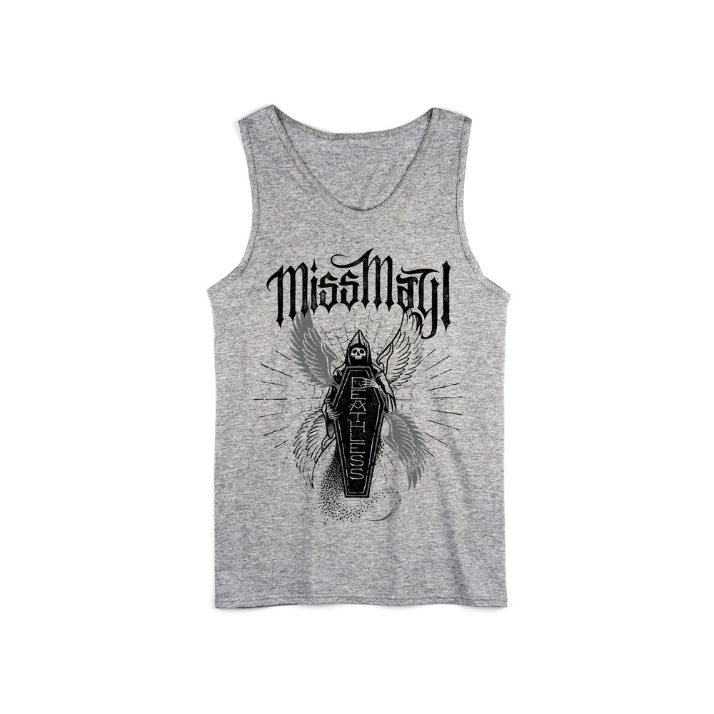 Deathless Grey Tank Top