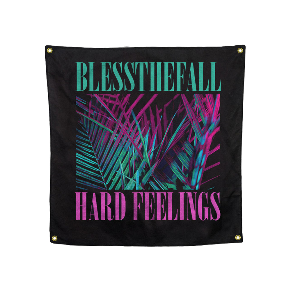 Hard Feelings  40X40 Custom Wall Flag