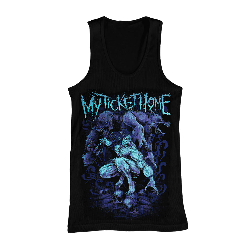 Werewolf Black Tank Top