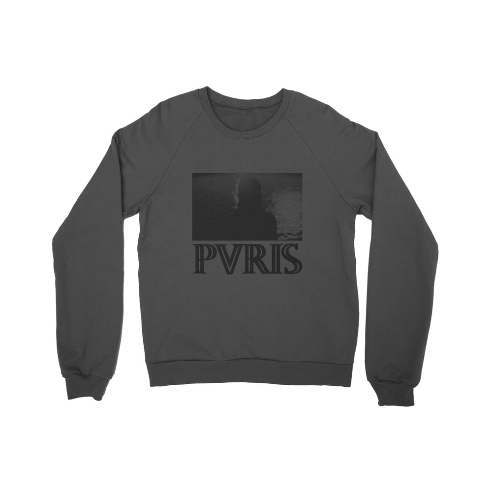 Silhouette Charcoal Crewneck