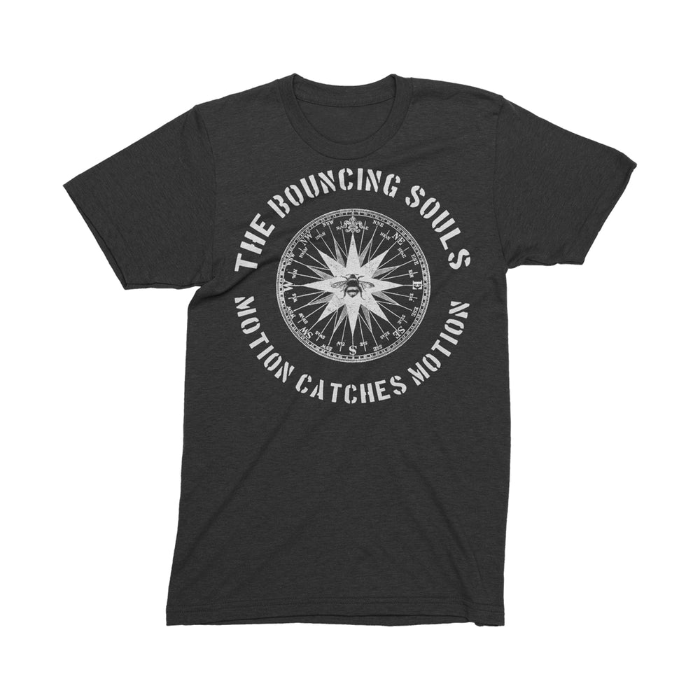 Compass Black T-Shirt