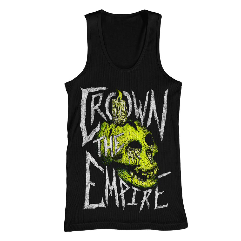 Skull & Candle Black Tank Top