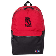 Logo Champion Red With Black Back Pack