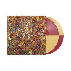 Tree City Sessions Half Oxblood/Half Beer 2X Vinyl LP