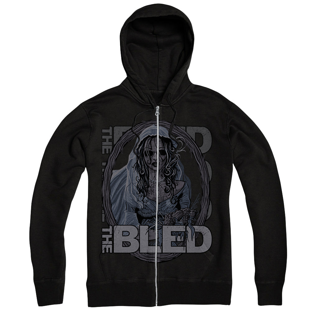 The Bride Black Zip-Up