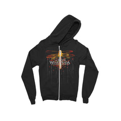 Dragonfly Black Zip-Up