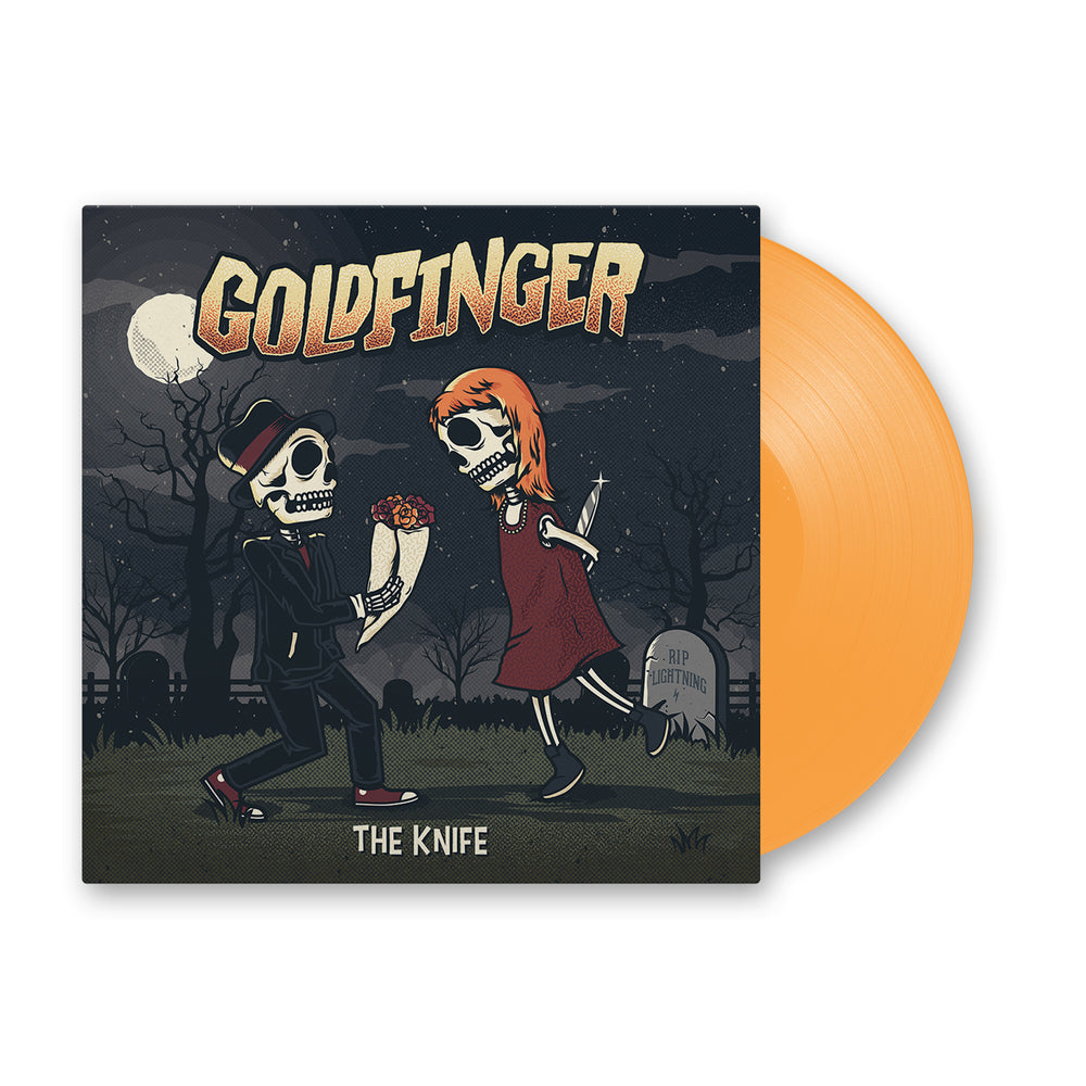 The Knife Halloween Orange