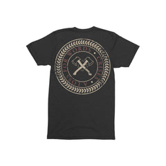 Crises Axes Dark Heather Grey T-Shirt