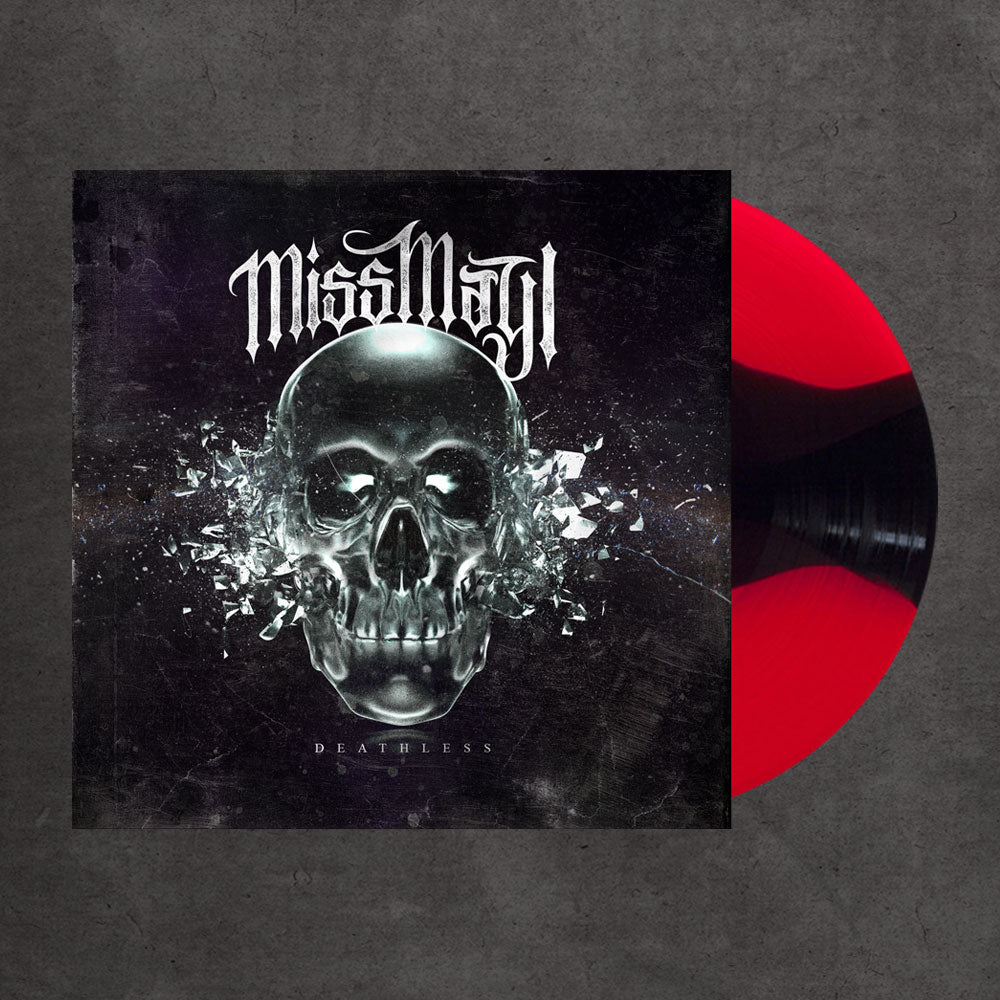 Deathless Red/Black Striped Vinyl LP