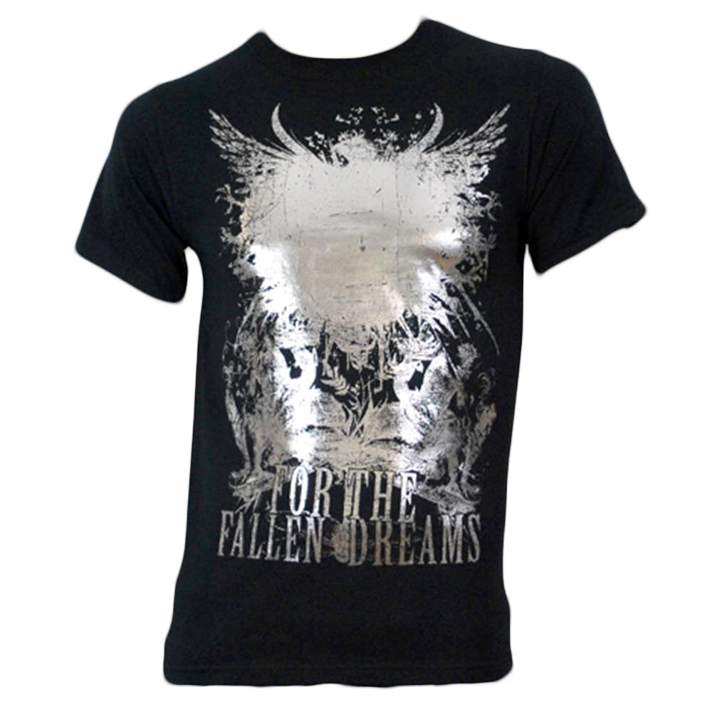 Super Bird Silver Foil Black T-Shirt