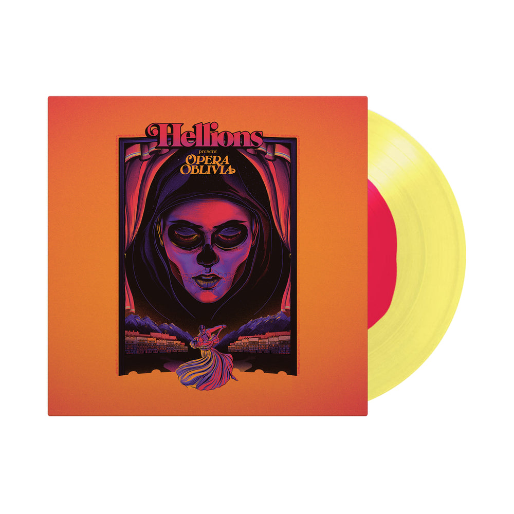 Opera Oblivia Pink In Yellow Vinyl LP