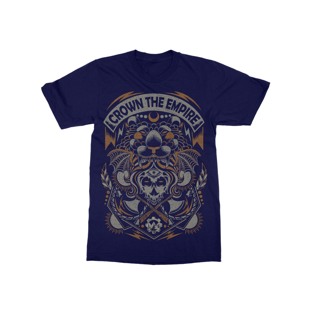 Axe Navy T-Shirt