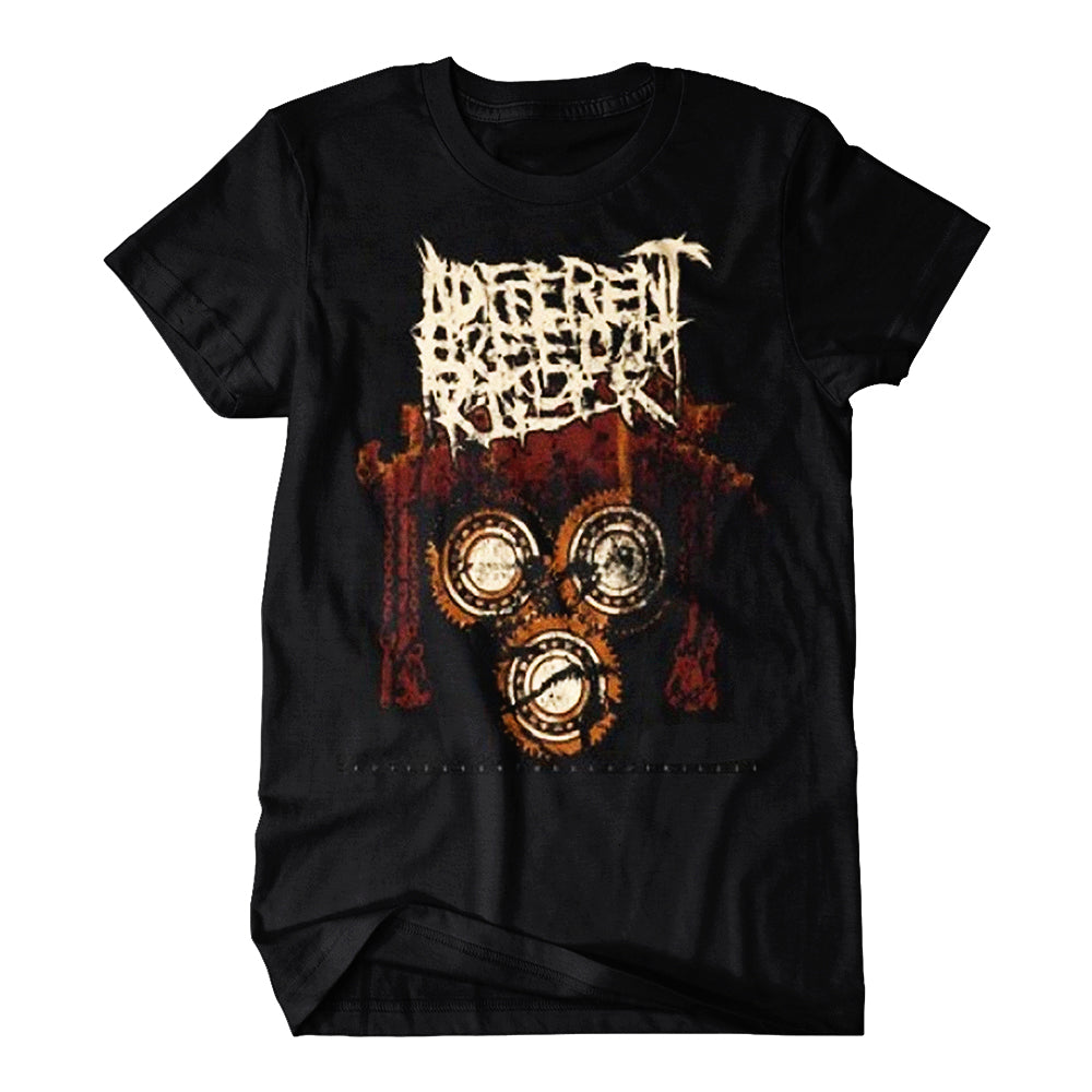 Gears Black T-Shirt
