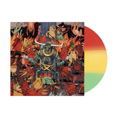 Afterburner Rasta Tri-Color Vinyl LP