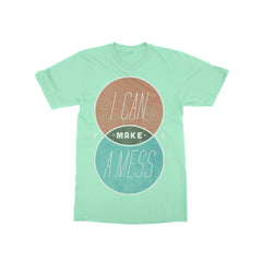 Venn Diagram Mint T-Shirt