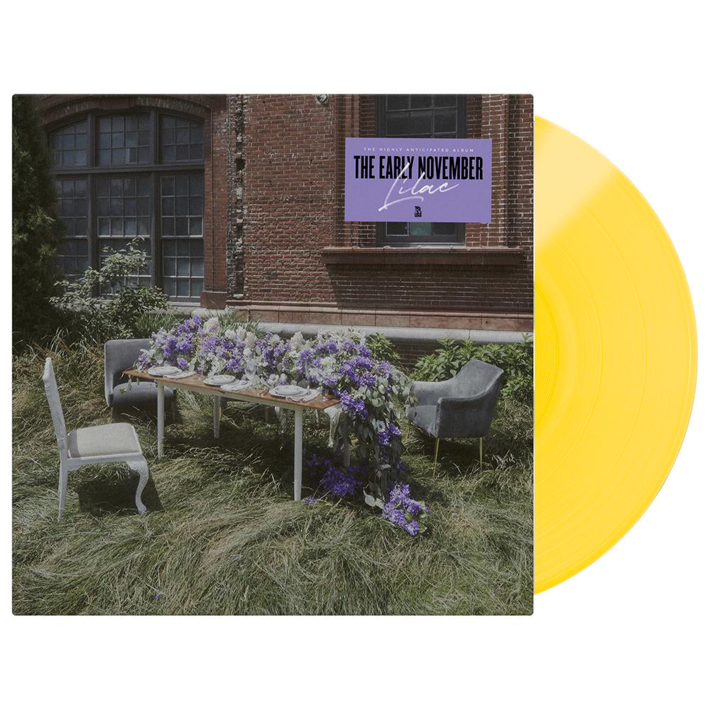 Lilac Yellow Vinyl LP