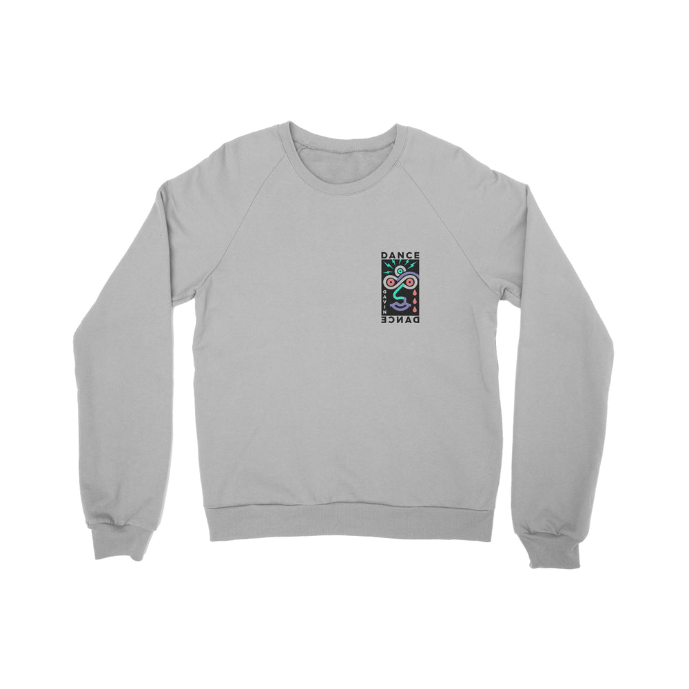 8Face Grey Crewneck