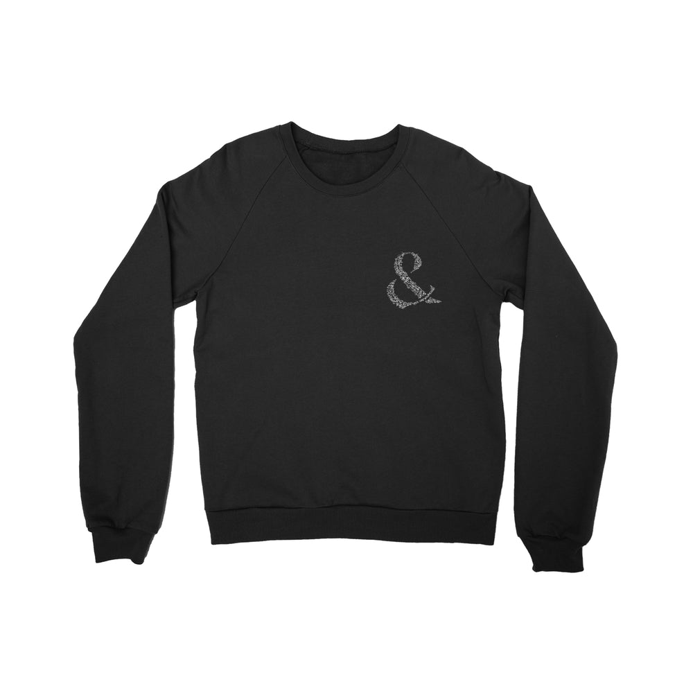Faithfulness Black Crewneck