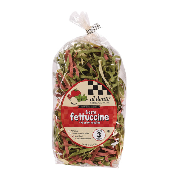 Al Dente - Fettuccine - Fiesta - Case of 6 - 12 oz.