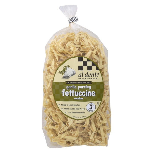 Al Dente - Fettuccine - Garlic Parsley - Case of 6 - 12 oz.