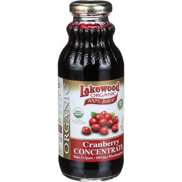 Lakewood Organic Cranberry Concentrate - 12.5 oz