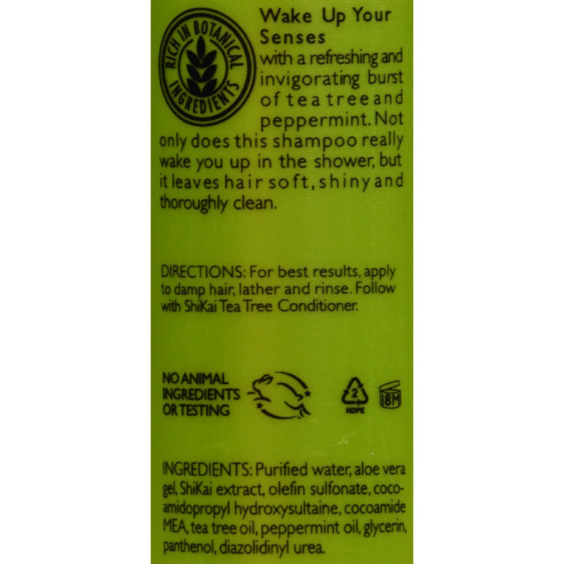 Shikai Products Tea Tree Shampoo - Case of 24 - 2 oz
