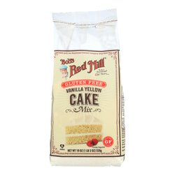 Bob's Red Mill - Gluten Free Vanilla Cake Mix - 19 oz - Case of 4