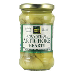 Native Forest Whole Artichoke Hearts - Fancy - Case of 6 - 9.9 oz.