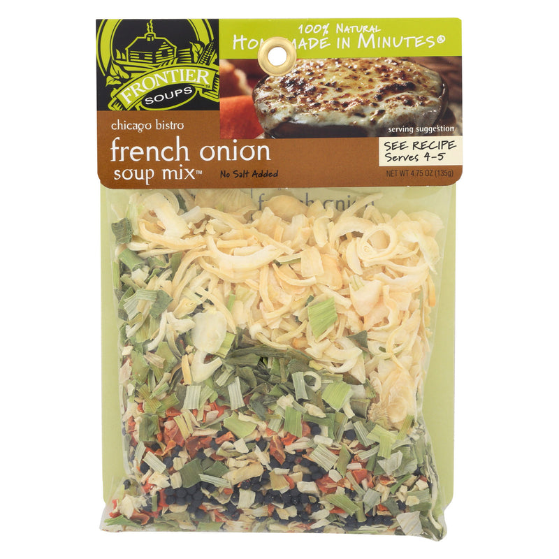 Frontier Soup Soup - Chicago Bistro French Onion - Case of 8 - 4.75 oz