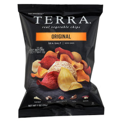 Terra Chips Exotic Vegetable Chips - Original - Case of 24 - 1 oz.