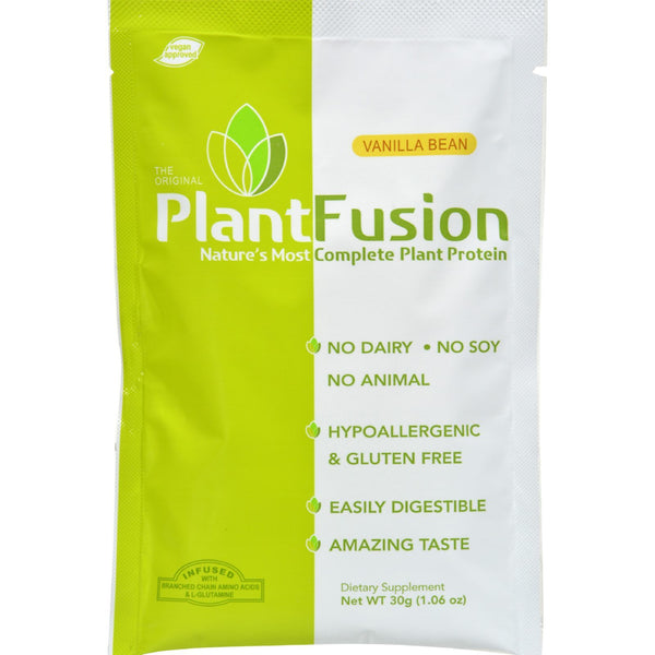 Plantfusion - Complete Protein - Vanilla Packets - Case of 12 - 30 Grams
