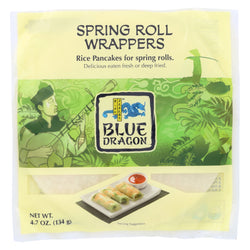 Blue Dragon - Wrappers - Spring Roll - Case of 12 - 4.7 oz